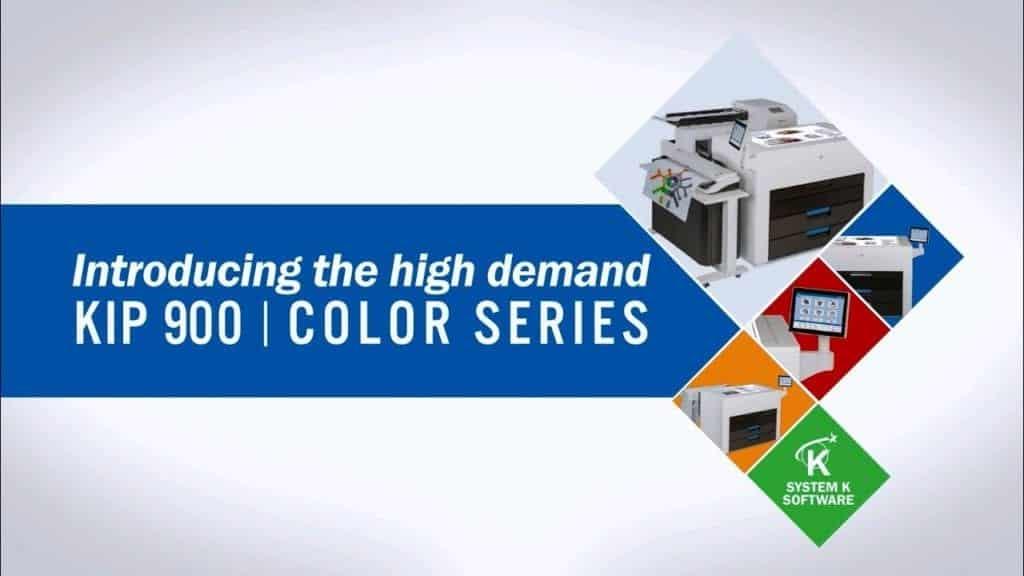 KIP Wide Format 900 Color Series