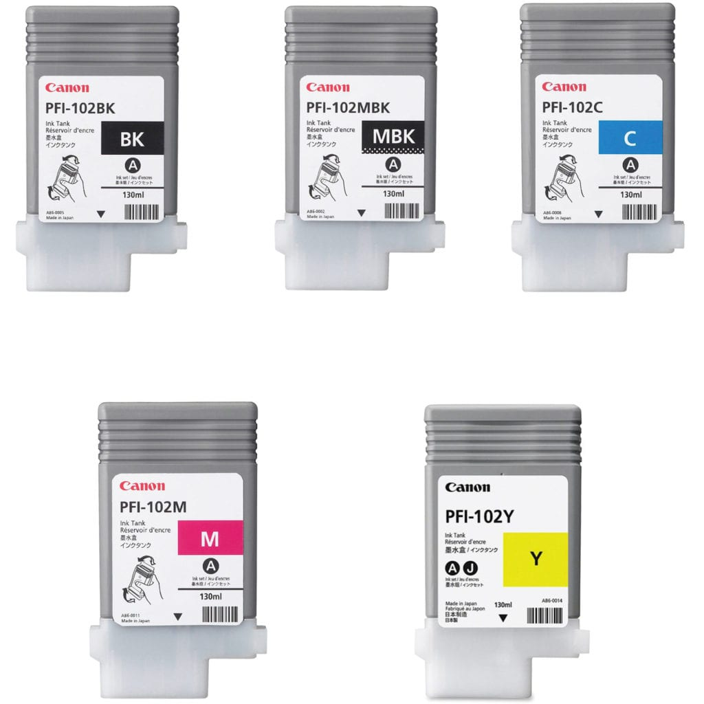 Canon Wide Format Ink Bundles