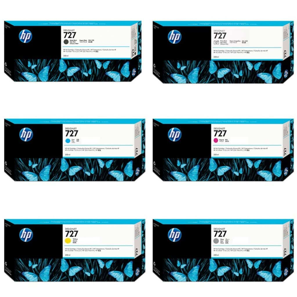HP Wide Format Ink Bundles